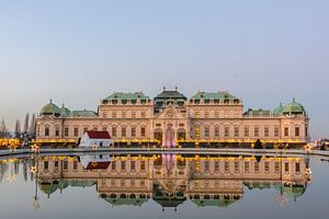 Schloss Belvedere Wien van Lisa Stelzel