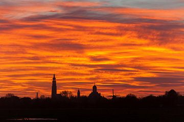 Skyline Middelburg van Gijs Koole