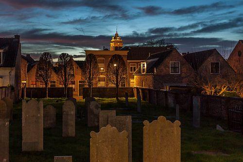 Bij de Joodse begraafplaats
