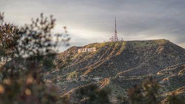 Hollywood-Zeichen, Los Angeles, USA von Joost Jongeneel