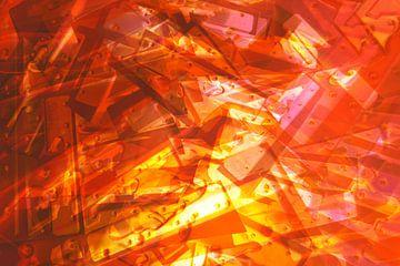 Kamin aus Metall von Studio Kunsthart