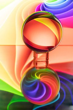 kleurrijk van Koos Lanting