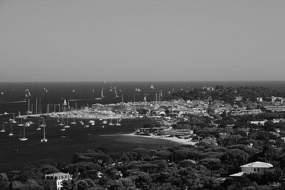 Foto van het stadje Saint-Tropez