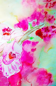 apple blosssom van M.A. Ziehr