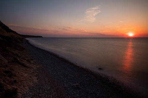 Sonnenuntergang an der Ostsee von