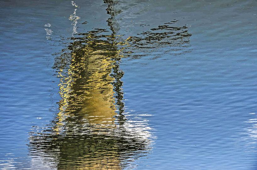 De molen van Delfshaven van Frans Blok