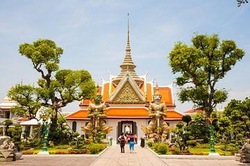 Tempel te Bangkok van Ben van Boom