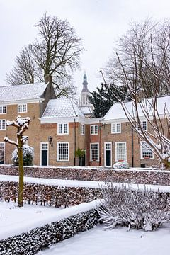 Der Beginenhof in Breda, in den Niederlanden. von Henk Van Nunen