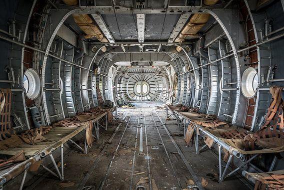 Vliegtuig voor transport van gewonden van Inge van den Brande