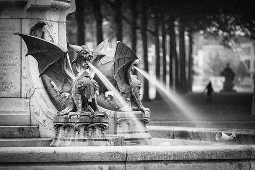 De draak fontein  van