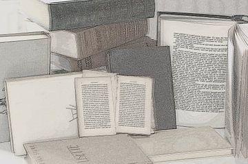 old books oude boeken van Groothuizen Foto Art