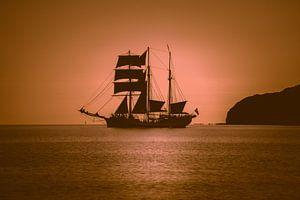 Zeilschip in de Oostzee