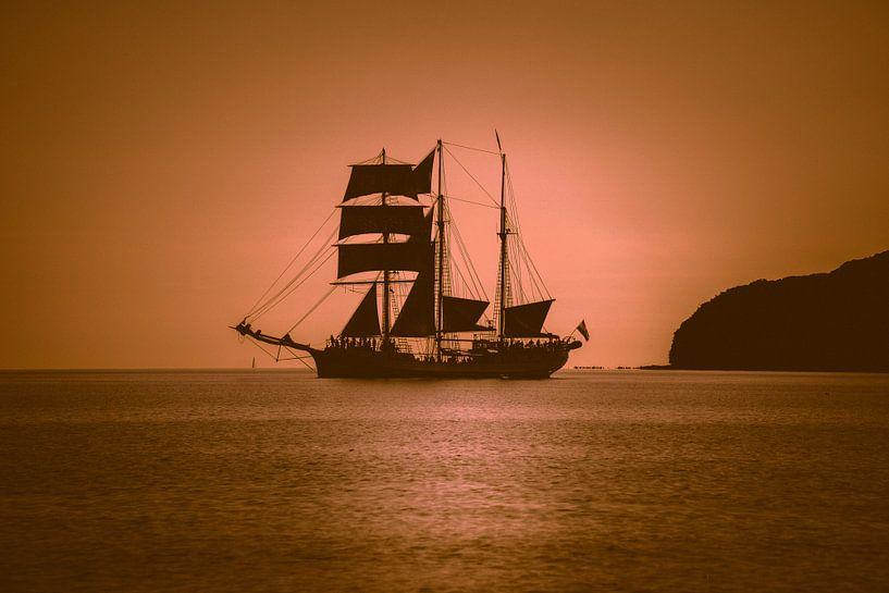 Zeilschip in de Oostzee van Mirko Boy