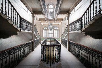 Escalier du Palais Splendide. sur Roman Robroek