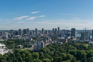 Rotterdam Skyline van Patrick Verhoef