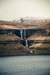 Fossa waterval op de Faeröer Eilanden