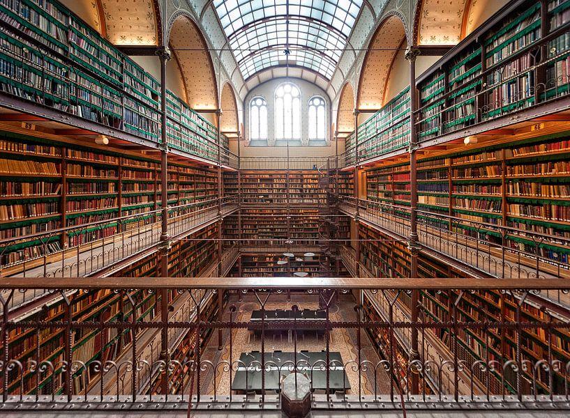 De bibliotheek / Rijksmuseum / Amsterdam van Rob de Voogd / zzapback