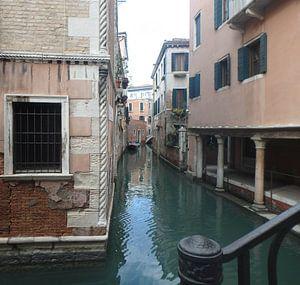 Gracht in Venetië