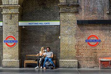 Notting Hill Gate. von Henri Boer Fotografie