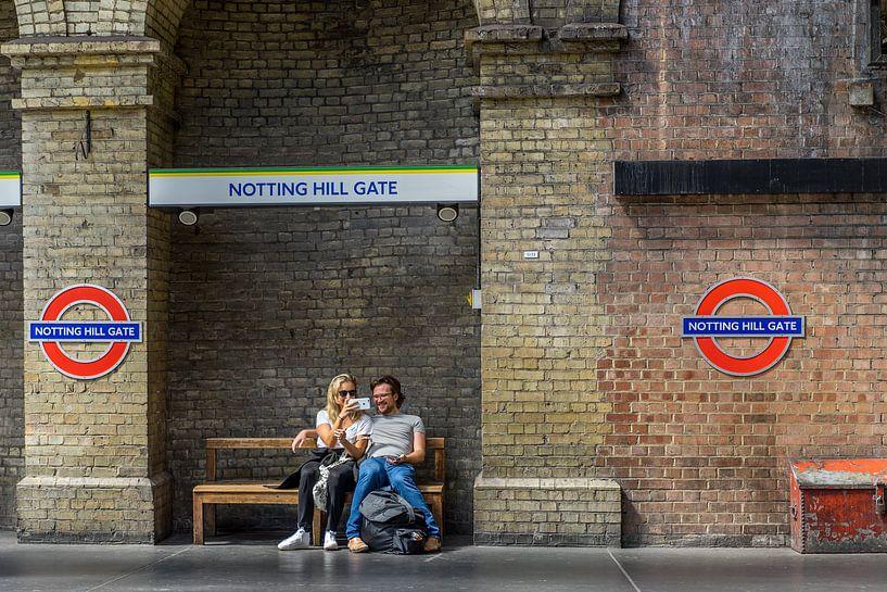 Notting Hill Gate. van Henri Boer Fotografie