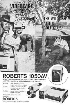 ROBERTS 1050AV WERBUNG von Jaap Ros