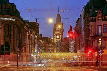 Blick auf das Martinstor Freiburg