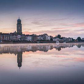 Un lever de soleil silencieux qui dévoile l'horizon sur Edwin Mooijaart