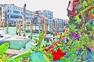 Venise en fleurs