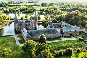 Schloss Hoensbroek von oben von Emile Bosch