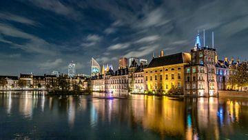 Binnenhof de nuit sur Rene Siebring