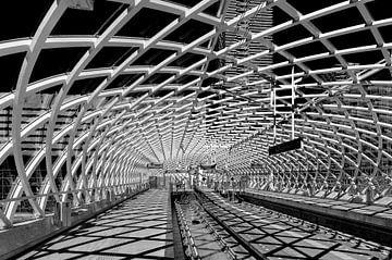 Metrostation Den Haag Centraal van Rinus Lasschuyt Fotografie