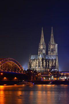 La cathédrale de Cologne sur Günter Albers