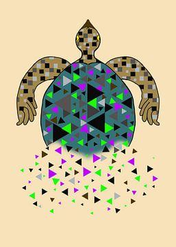 Schildpad von Monique Schilder