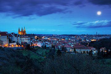 Prag city skyline von Frank Herrmann