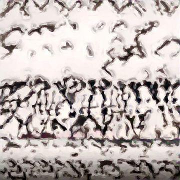 Abstract Inspiratie XXXVIII van Maurice Dawson
