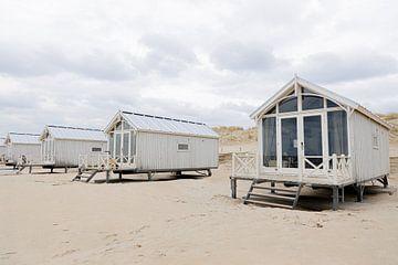 Übernachtung am Strand an der holländischen Küste von HappyTravelSpots