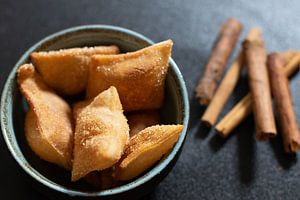 Süße italienische Delikatesse mit Zimt