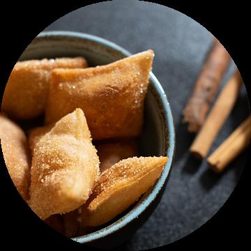 Zoete Italiaanse lekkernij met kaneel van Annemieke Glutenvrij