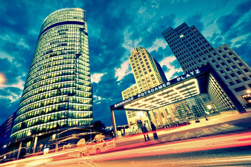 Berlin - Potsdamer Platz van Alexander Voss