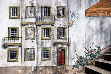 Reinigung der Fassade von Antwan Janssen