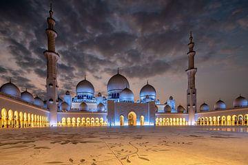 Shekh Zayed Grand Mosque Abu Dhabi von Achim Thomae