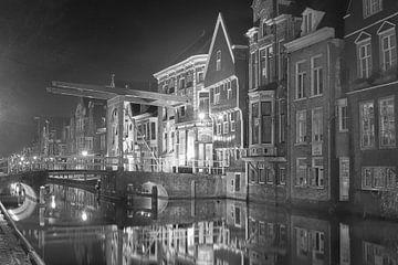Alkmaar in de nacht von Michel Postma