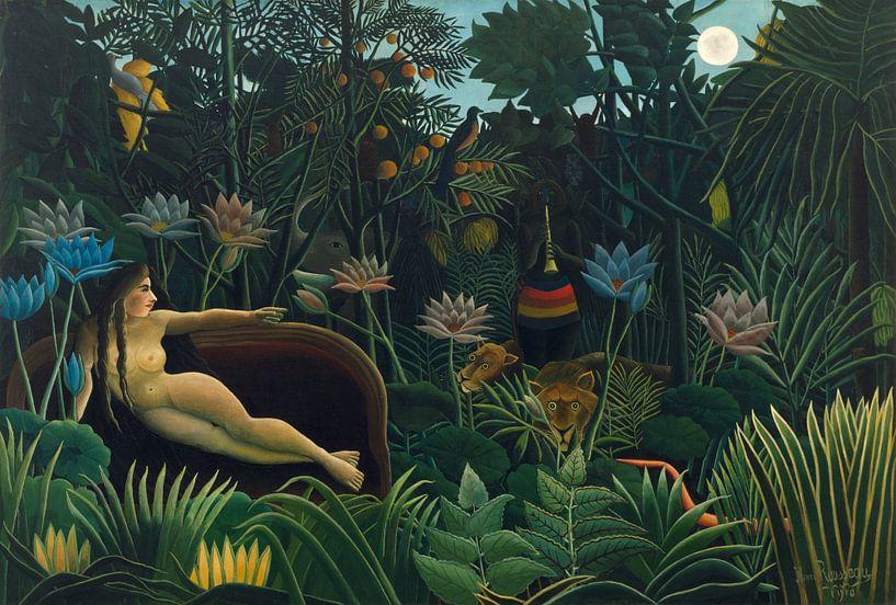 Henri Rousseau. Le Rêve von 1000 Schilderijen