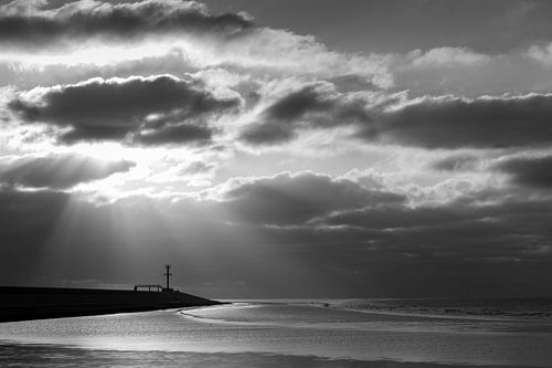 Eemshaven zwart - wit