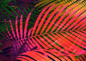 COLORFUL TROPICAL LEAVES no6