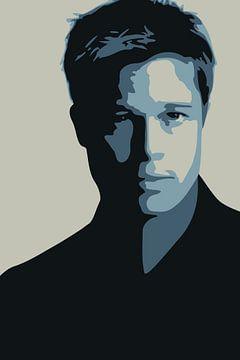 Brad Pitt von Harry Hadders