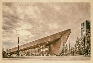 Oude ansichten: Rotterdam Centraal Station van