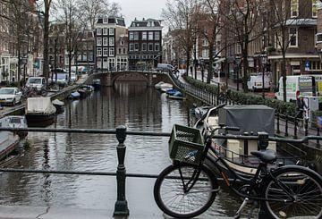 Grachten von Amsterdam 02 von Manuel Declerck