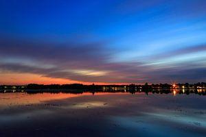 Zonsondergang Rijkerswoerdse Plassen Arnhem