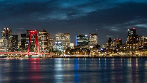 Willemsbrug Rotterdam van Jeroen Kleiberg